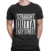 Walking Dead Straight Outta Easy Street t-shirt by Clique Wear