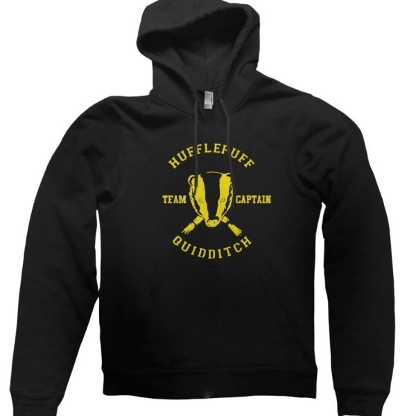 Hufflepuff Quidditch Team Captain hoodie by Clique Wear