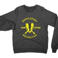 Hufflepuff Quidditch Team Captain sweatshirt by Clique Wear