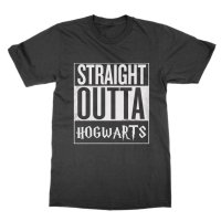 Straight Outta Hogwarts t-shirt by Clique Wear