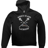 Whore Island Lacrosse hoodie by Clique Wear