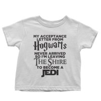 My Acceptance Letter From Hogwarts Never Arrived So I'm Leaving The Shire to Become a Jedi t-shirt by Clique Wear
