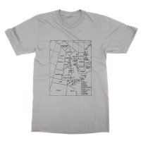 Shipping Forecast Areas t-shirt by Clique Wear