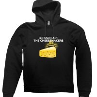 Blessed are the Cheesemakers hoodie by Clique Wear