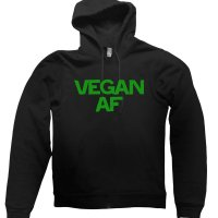 Vegan AF hoodie by Clique Wear