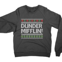 Dunder Mifflin Christmas jumper Sweatshirt by Clique Wear