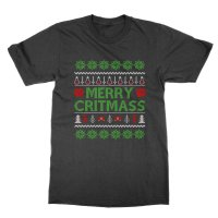Merry Critmass t-shirt by Clique Wear
