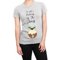 I've Got a Pudding in the Oven t-shirt by Clique Wear