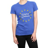 Dont Blame Me I Voted to Remain t-shirt by Clique Wear