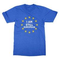 I Am Still European t-shirt by Clique Wear