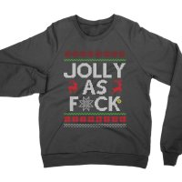 Jolly as Fck sweatshirt by Clique Wear