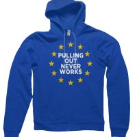 Pulling Out Never Works hoodie by Clique Wear