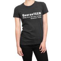QuarenTEEN 18 year old quarantine birthday t-shirt by Clique Wear