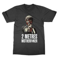 Two Metres Motherfucker social distancing t-shirt by Clique Wear