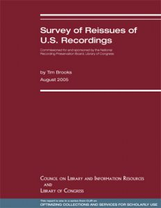 Survey of Reissues of U S  Recordings