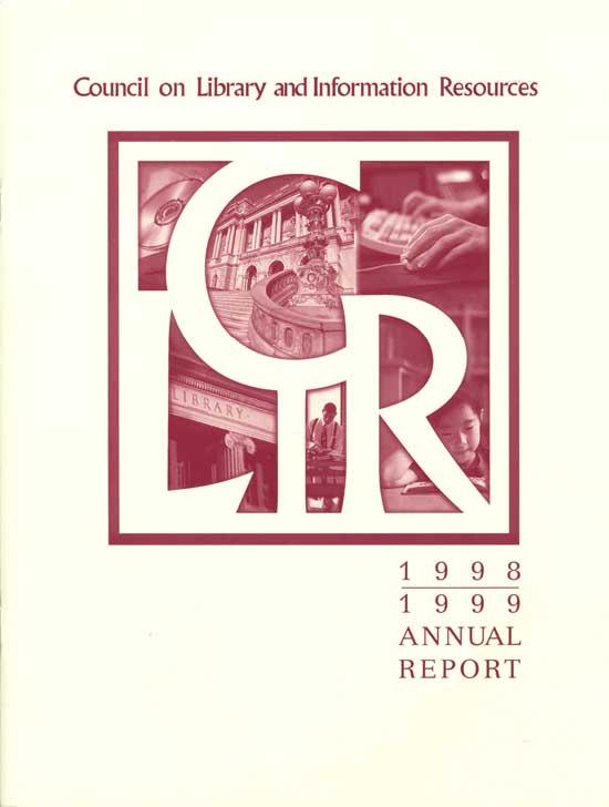 CLIR annual report 1998-1999