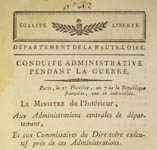 Selection from the Newberry Library's French Pamphlet Collections