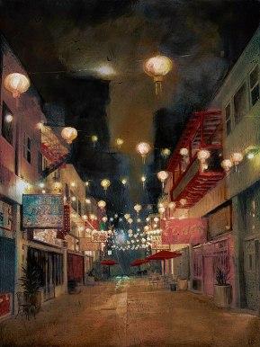 Lights on Chung King by Liz Brizzi
