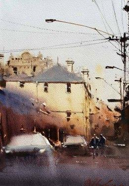 Back Street of Fitzroy