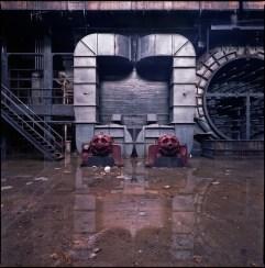 Neoclassical generating station - turbine hall