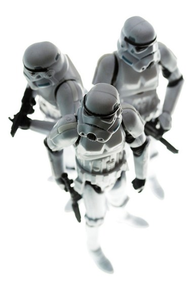 Three Storm Troopers
