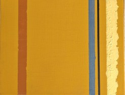 Barnett Newman process inspiration by Carla Bange, Grounded