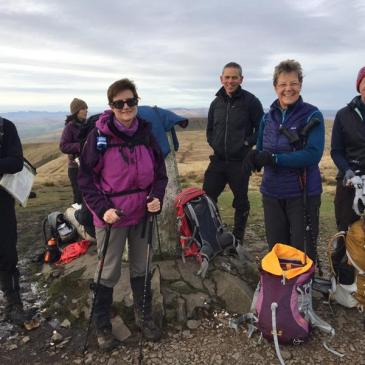 Howgills Walk 19th November 2017