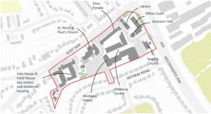 Map Botley Centre SPD