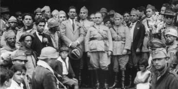 Getúlio Vargas após a revolução de 1930, que iniciou a Era Vargas. - Foto: Students for Liberty/divulgação