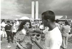 Movimento ficou conhecido como Caras Pintadas - Foto: Agência Brasil/ Divulgação