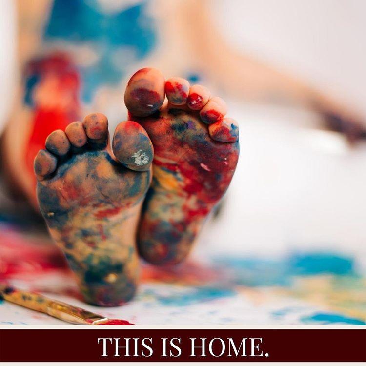 Instagram Post Design Example - Art & Home