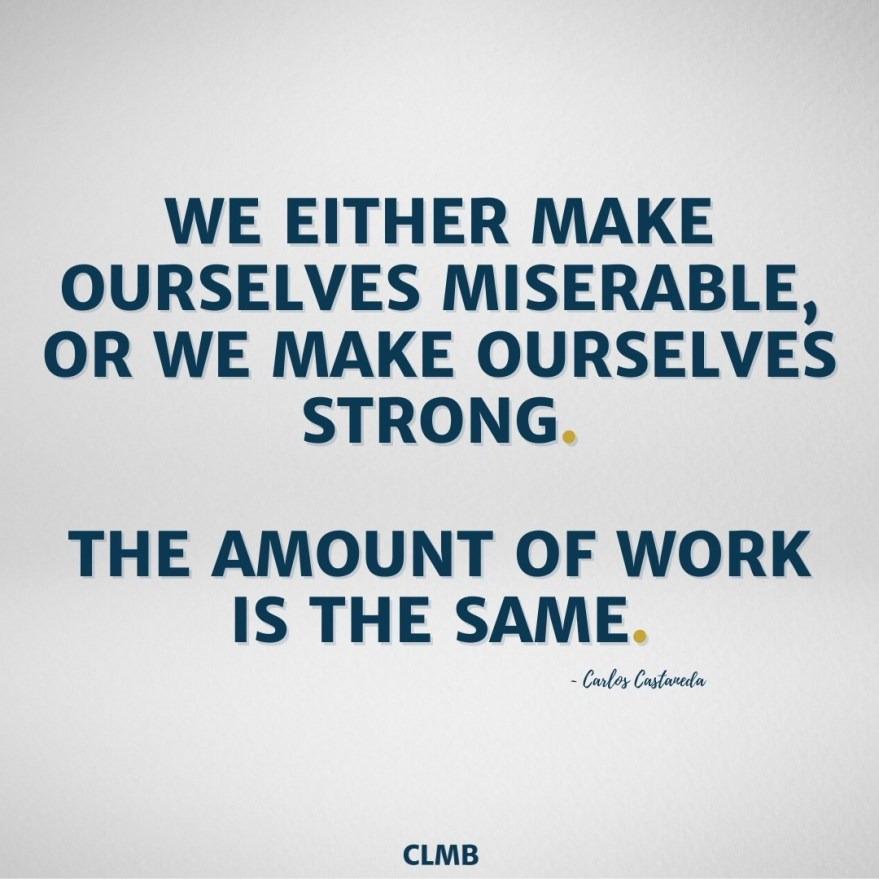 Carlos Castaneda Motivational Quote