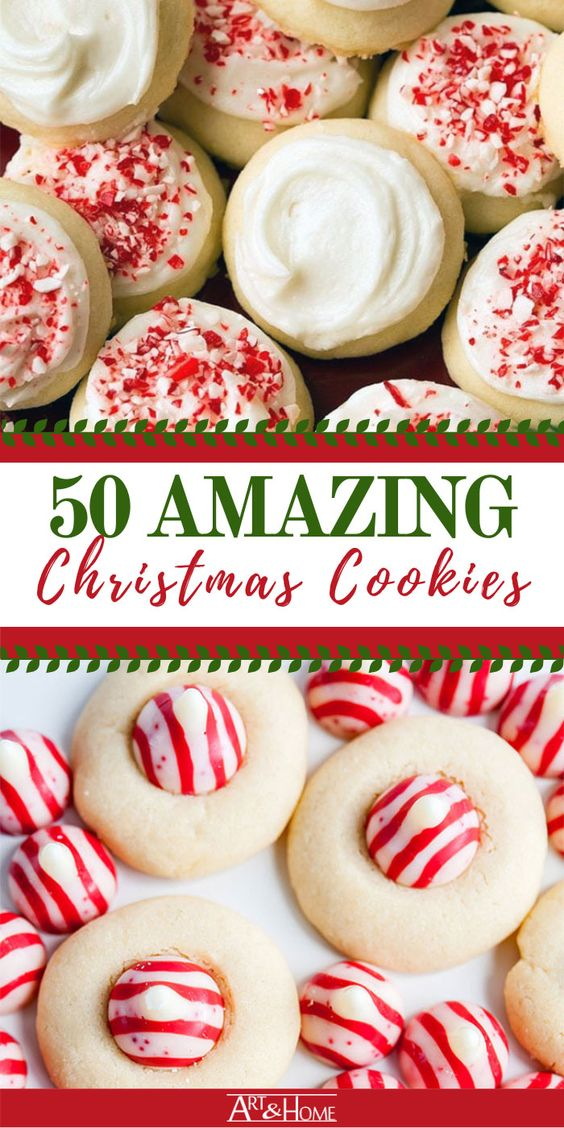 Content Promotion Pinterest Example Christmas Cookies
