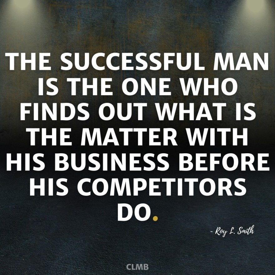 Roy L Smith Business Motivational Quote