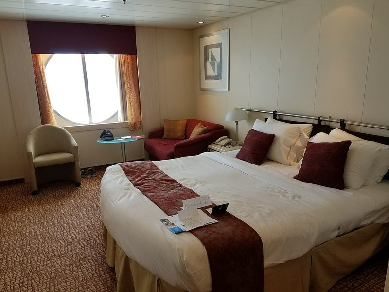 Oceanview Stateroom Cabin Category S5 Celebrity