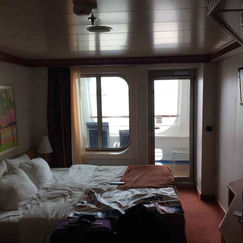 Balcony Cabin 2256 On Carnival Dream Category 7C