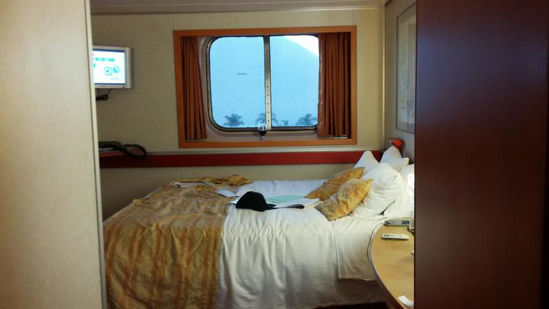 Oceanview Cabin E99 On Carnival Inspiration Category 6E