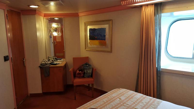 Oceanview Cabin 2474 On Carnival Conquest Category 6B