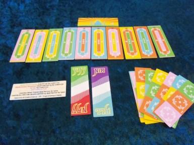 The cards of TAJ