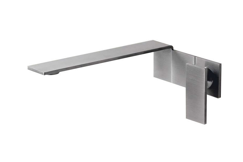 Emotion 5 Single Lever Wall Mount Mixer Tap   Cloakroom Solutions