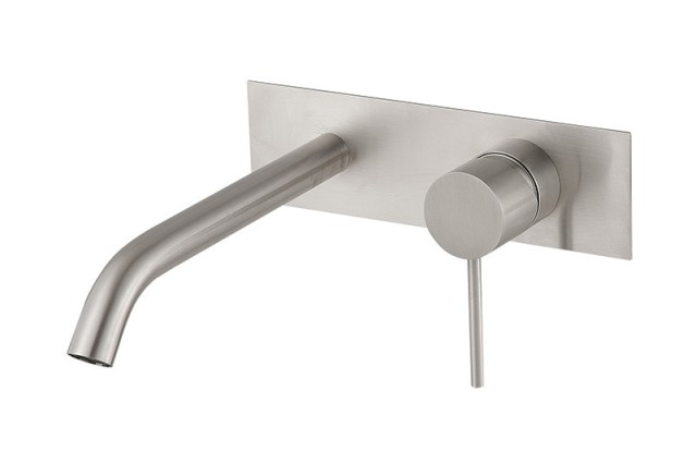 Fasson 40 Wall Mixer Tap | Cloakroom Solutions