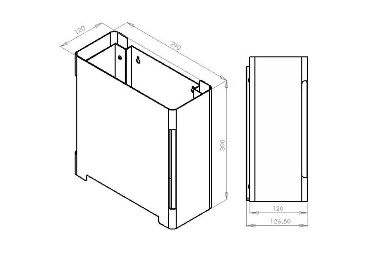 CL-262 Dimensions   Cloakroom Solutions