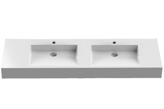 CONTI+ Futura 150 Double Washbasin | Cloakroom Solutions