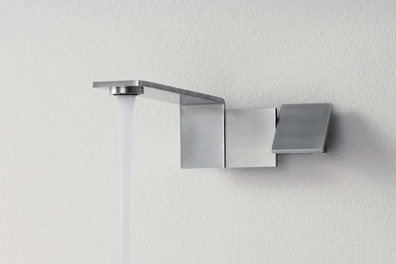Emotion 5 Two Lever Wall Mount Mixer Tap   Cloakroom Solutions