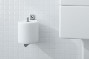 CONTI+ Spare Toilet Roll Holder | Cloakroom Solutions