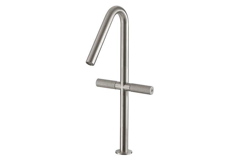 Sense 22 Two Lever Mixer Tap 390mm | Cloakroom Solutions