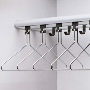 WG40 Wardrobe Rail and Shelf | Cloakroom Solutions