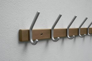 WG5560 Wall Mounted Coat Hook Rail | Cloakroom Solutions