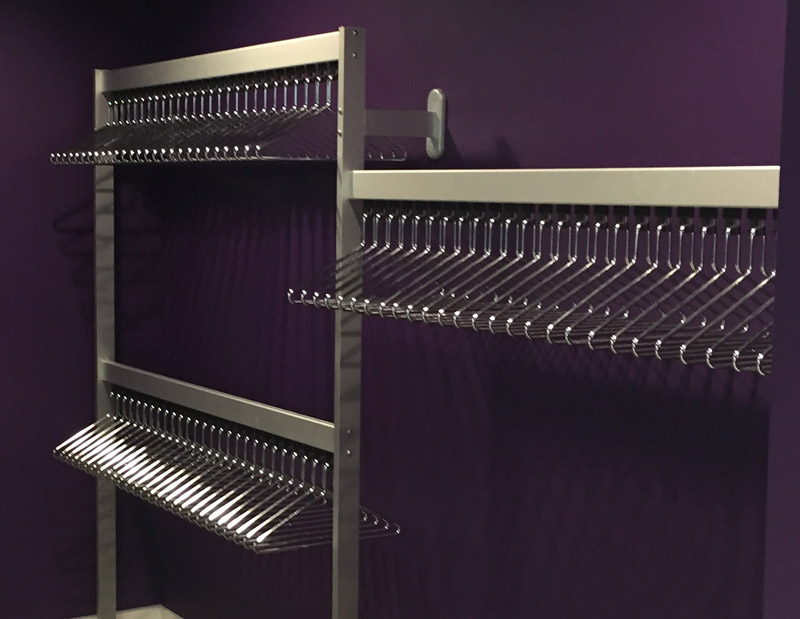 Bespoke Coat Hanging System | Cloakroom Solutions