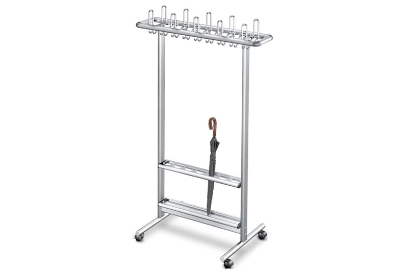 RG40S Mobile Coat Rack | Cloakroom Solutions